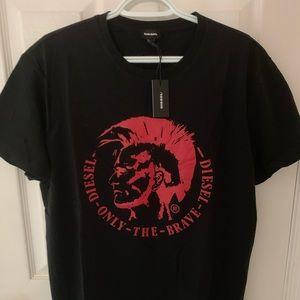 New Men's Diesel T-Shirt. Size: XL